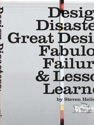 cover image of Design Disasters