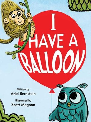 cover image of I Have a Balloon