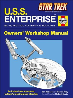 cover image of U.S.S. Enterprise Haynes Manual