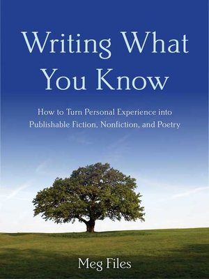 cover image of Writing What You Know