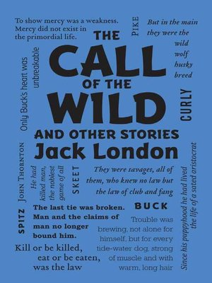 cover image of The Call of the Wild and Other Stories