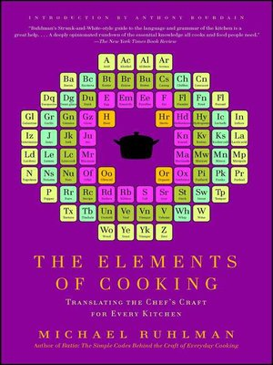cover image of The Elements of Cooking