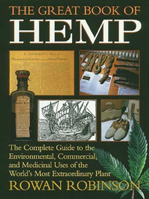 cover image of The Great Book of Hemp