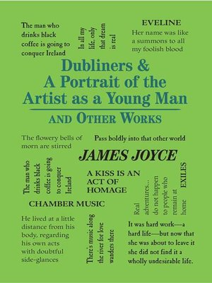 cover image of Dubliners & a Portrait of the Artist as a Young Man and Other Works