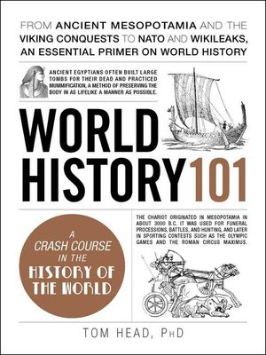 cover image of World History 101