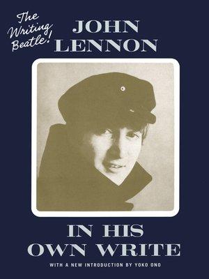 Yoko ono overdrive rakuten overdrive ebooks audiobooks and in his own write john lennon author fandeluxe Epub