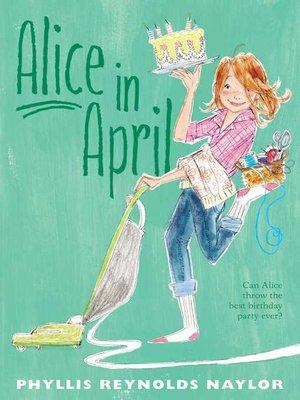 cover image of Alice in April