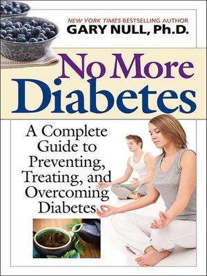 cover image of No More Diabetes