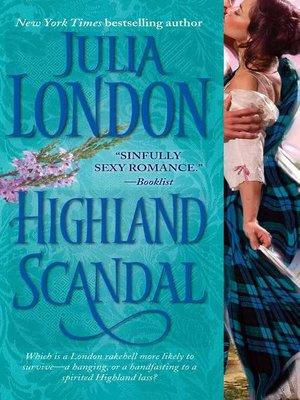 cover image of Highland Scandal