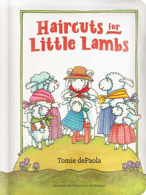 cover image of Haircuts for Little Lambs