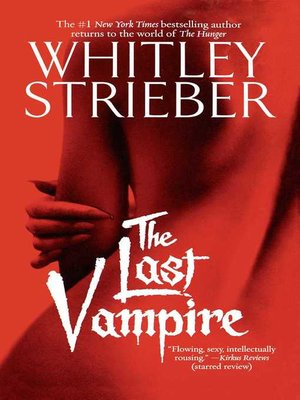cover image of The Last Vampire