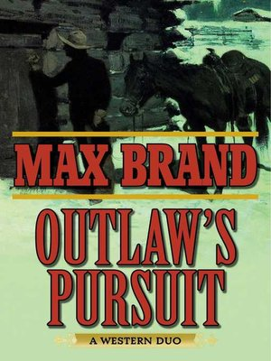 cover image of Outlaw's Pursuit