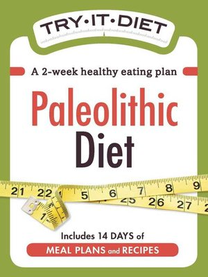 cover image of Try-It Diet--Paleolithic Diet