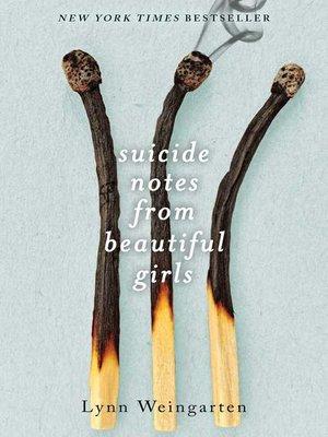 Suicide Notes Book Pdf