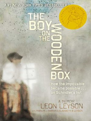 cover image of The Boy on the Wooden Box