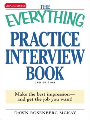 cover image of The Everything Practice Interview Book
