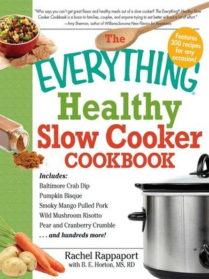 cover image of The Everything Healthy Slow Cooker Cookbook