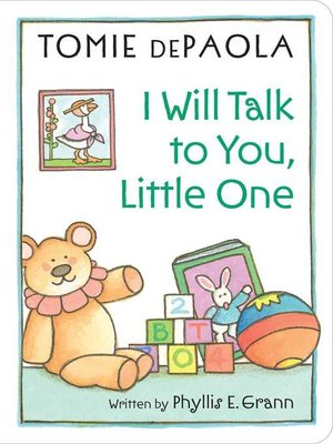 cover image of I Will Talk to You, Little One