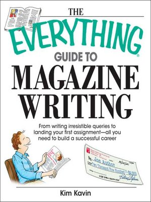 cover image of The Everything Guide to Magazine Writing