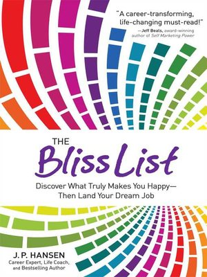 cover image of The Bliss List