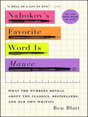 cover image of Nabokov's Favorite Word Is Mauve