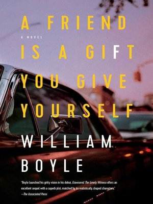 cover image of A Friend Is a Gift You Give Yourself