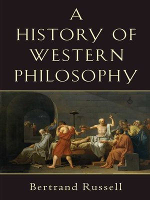 cover image of History of Western Philosophy