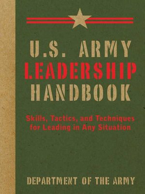 cover image of U.S. Army Leadership Handbook