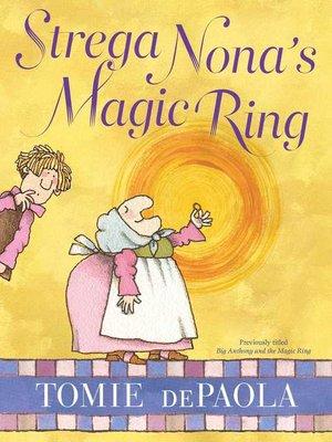 cover image of Strega Nona's Magic Ring