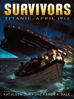cover image of Titanic: April 1912