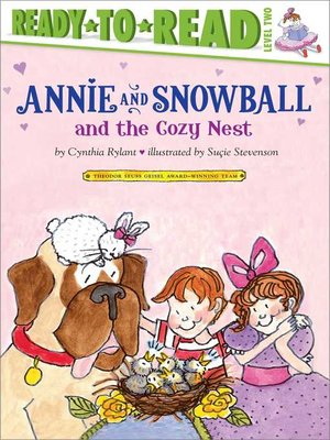 cover image of Annie and Snowball and the Cozy Nest
