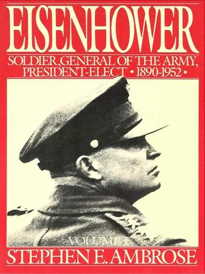 cover image of Eisenhower Volume I