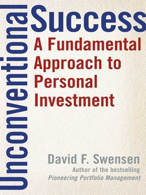 cover image of Unconventional Success