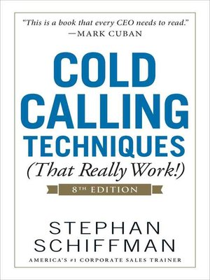 cover image of Cold Calling Techniques (That Really Work!)