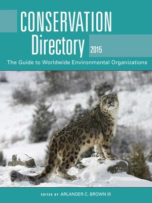 cover image of Conservation Directory 2015