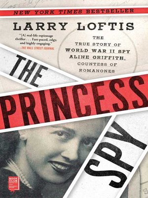cover image of The Princess Spy