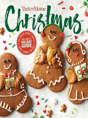 cover image of Taste of Home Christmas 2E