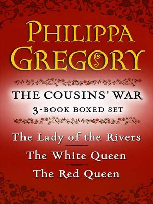 cover image of Philippa Gregory's the Cousins' War 3-Book Boxed Set
