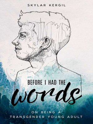 cover image of Before I Had the Words