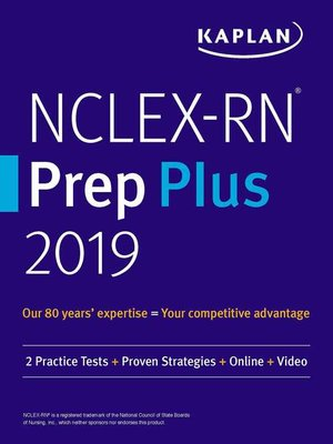 cover image of NCLEX-RN Prep Plus 2019