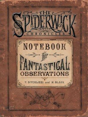 cover image of Notebook for Fantastical Observations