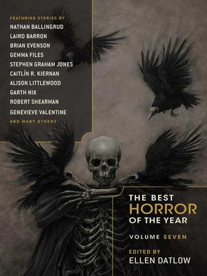 cover image of Best Horror of the Year Volume 7
