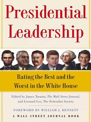 cover image of Presidential Leadership