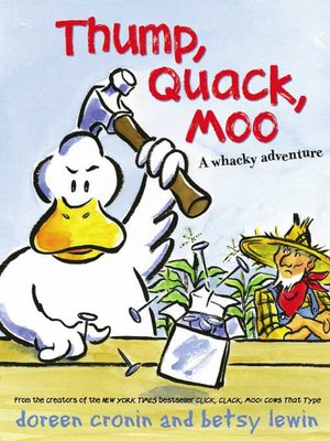 cover image of Thump, Quack, Moo