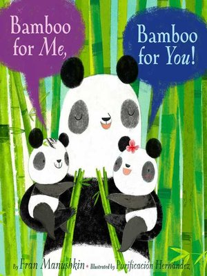 cover image of Bamboo for Me, Bamboo for You!
