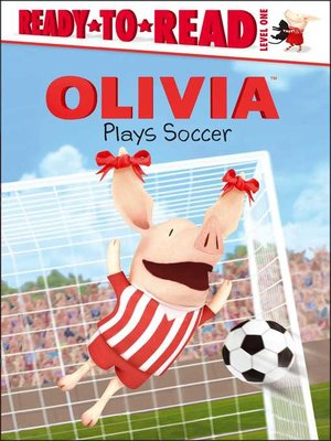 cover image of Olivia Plays Soccer