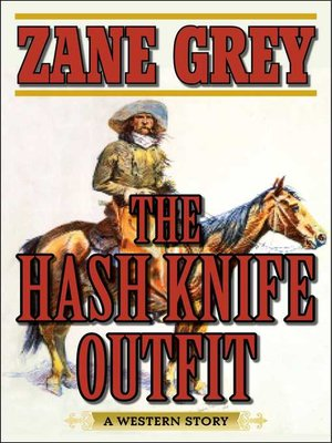 cover image of The Hash Knife Outfit