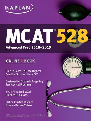 cover image of MCAT 528 Advanced Prep 2018-2019