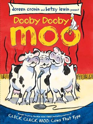 cover image of Dooby Dooby Moo