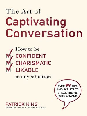 cover image of The Art of Captivating Conversation